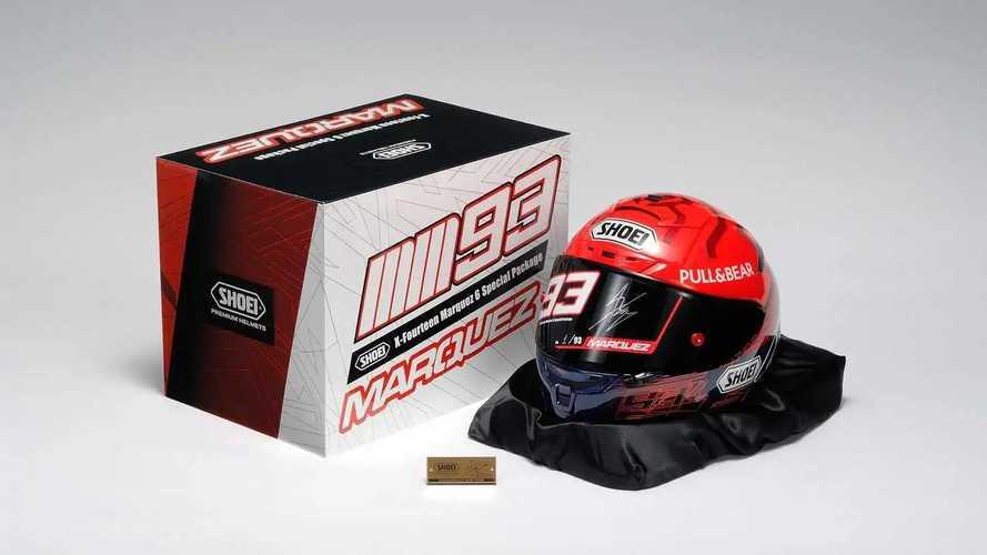 Helm Shoei X-Fourteen Marquez 6 Special Package Rilis Bulan Depan