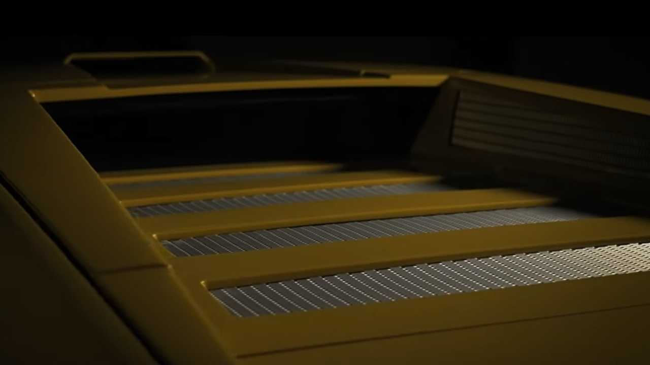 Lamborghini Countach recreation teaser