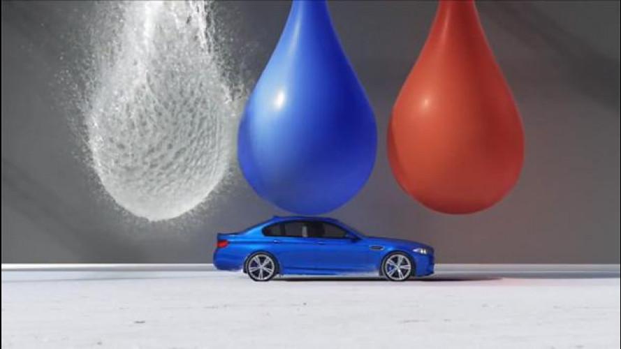 La BMW M5 va