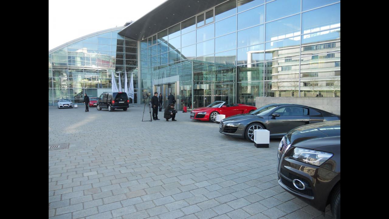 Audi, conferenza stampa di bilancio 2010