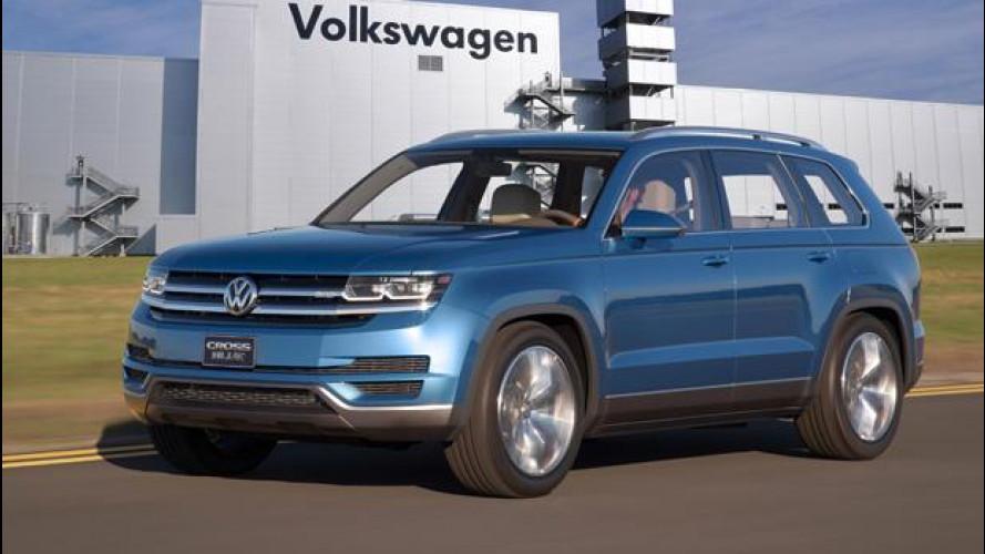 Volkswagen conferma il SUV a 7 posti per gli USA