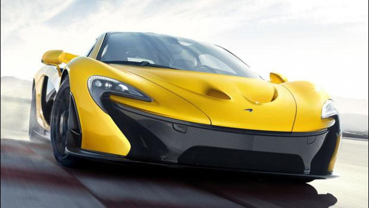 [Copertina] - McLaren P1
