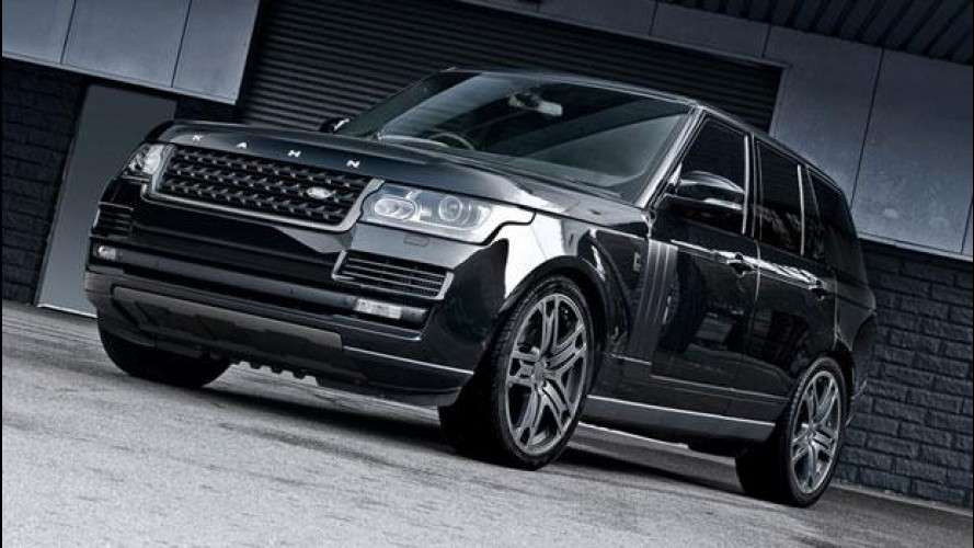 Kahn Range Rover Vogue, black label edition