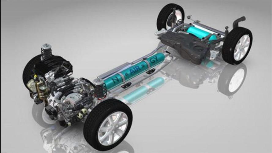 L'auto ibrida ad aria di PSA Peugeot-Citroen ha tecnologia Bosch