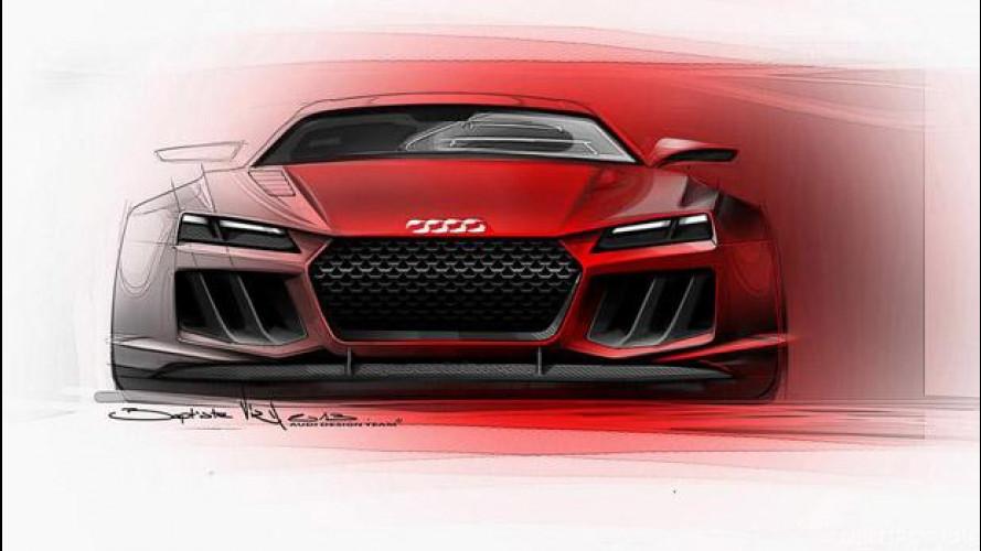 Audi Sport Quattro Concept: primi bozzetti