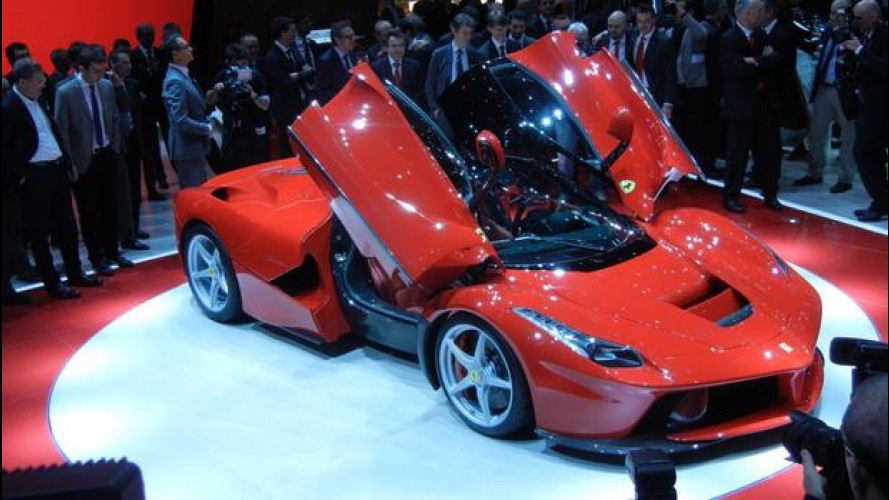 """Salone di Ginevra: ovazione per la nuova Ferrari """"LaFerrari"""""""