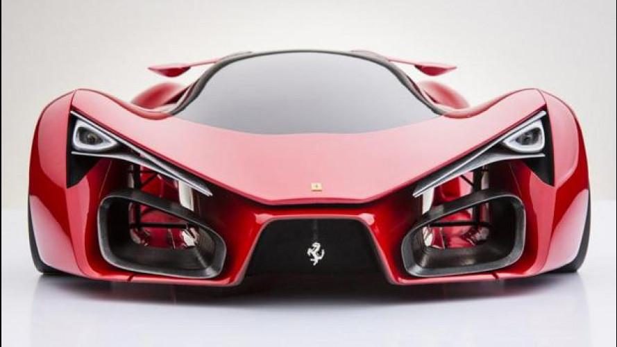 Ferrari F80 Concept, immaginando l'erede della LaFerrari
