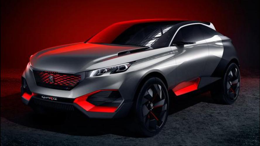 Peugeot Quartz, il crossover di roccia