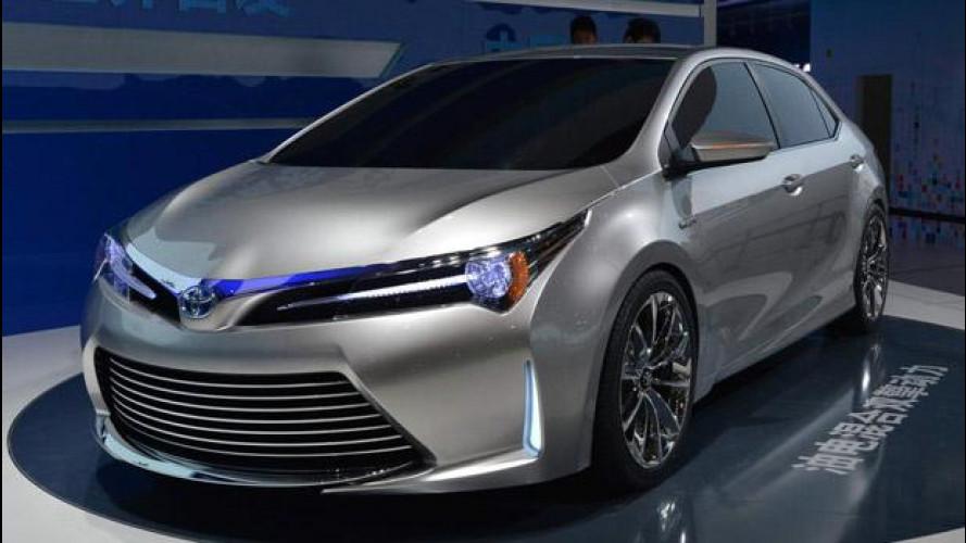 Toyota al Salone di Shanghai 2013