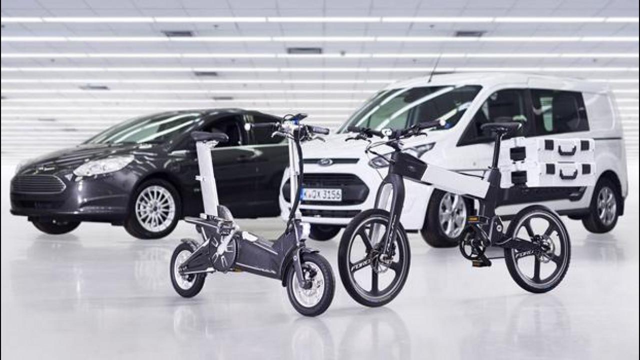 [Copertina] - Intermodalità, da Ford due e-bike