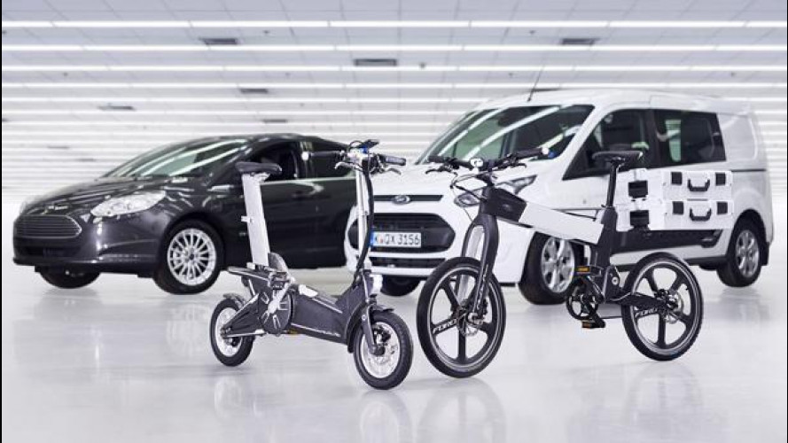 Intermodalità, da Ford due e-bike