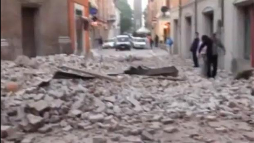 Terremoto in Emilia-Romagna: pochi problemi alla viabilità