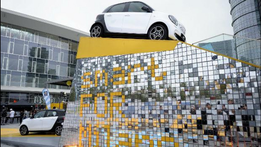 "Motor Show, smart porta a Bologna il concorso ""smart FOR city"""
