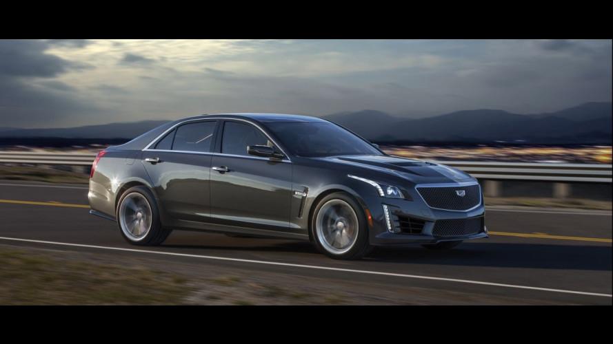 Nuova Cadillac CTS-V, l'americana da 649 CV