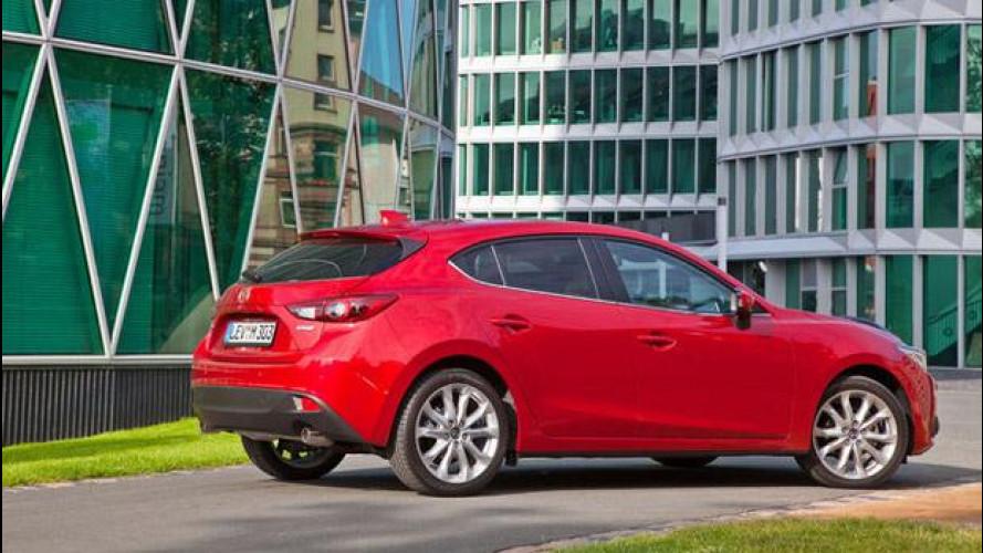 Nuova Mazda3, listino prezzi da 17.400 euro