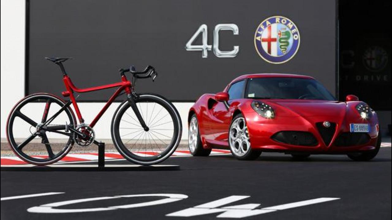 [Copertina] - 4C IFD, la nuova bicicletta da corsa Alfa Romeo
