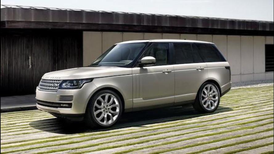 Nuova Range Rover, le prime immagini