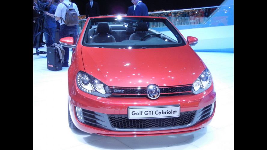 Golf GTI, Cabriolet in pochi secondi