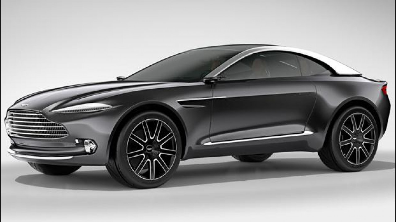 [Copertina] - Aston Martin DBX, crossover