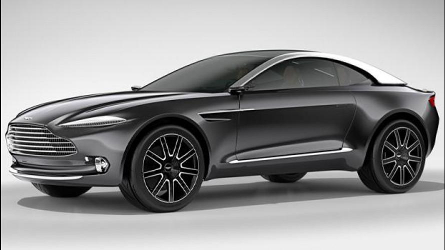 """Aston Martin DBX, crossover """"numero 1"""""""