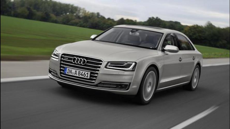Audi A8 3.0 TDI restyling, si viaggia nel lusso con un occhio ai consumi