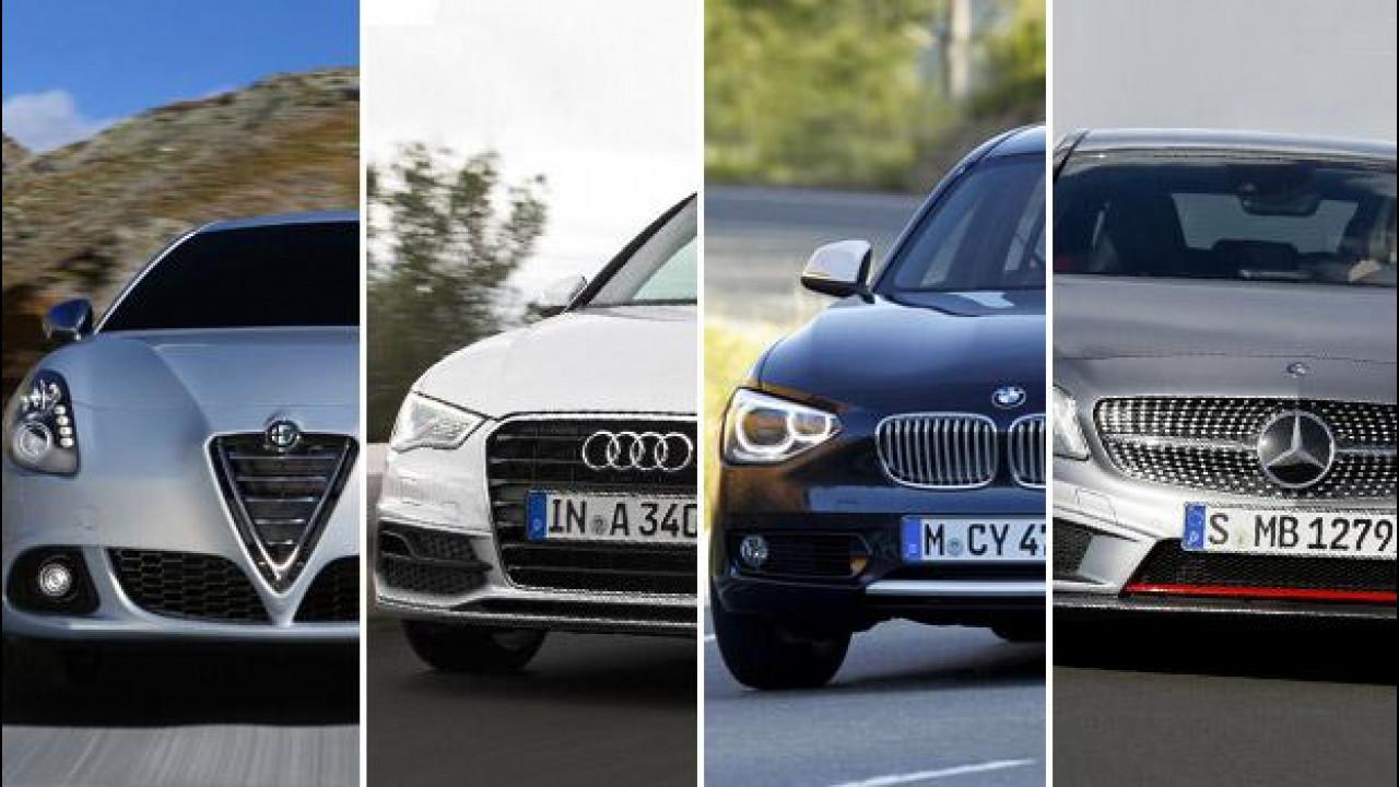 [Copertina] - Promozioni auto di fine anno, le offerte di Alfa Romeo, Audi, BMW e Mercedes