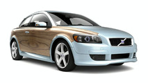 Volvo C30 with adhesive applique film