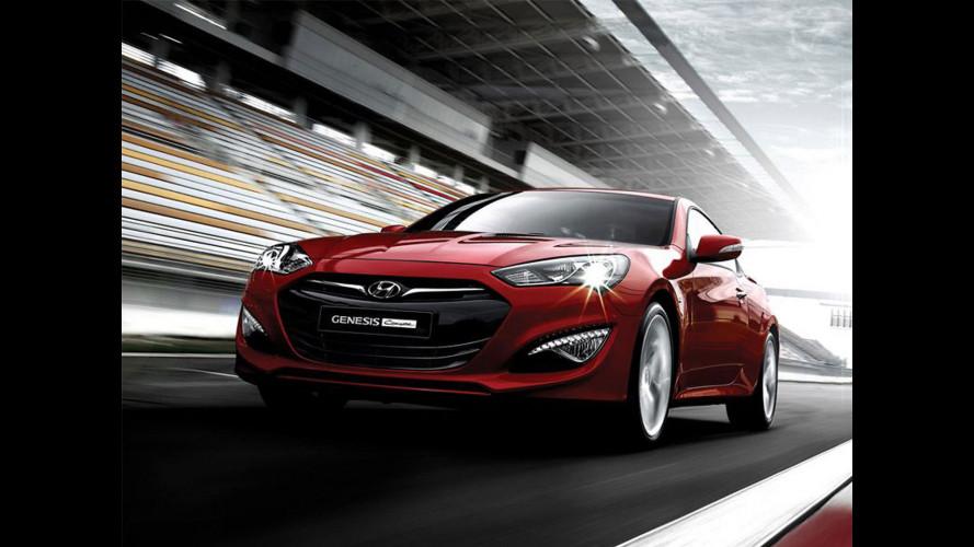 Hyundai Genesis Coupé restyling: 2.0 turbo da 275 CV