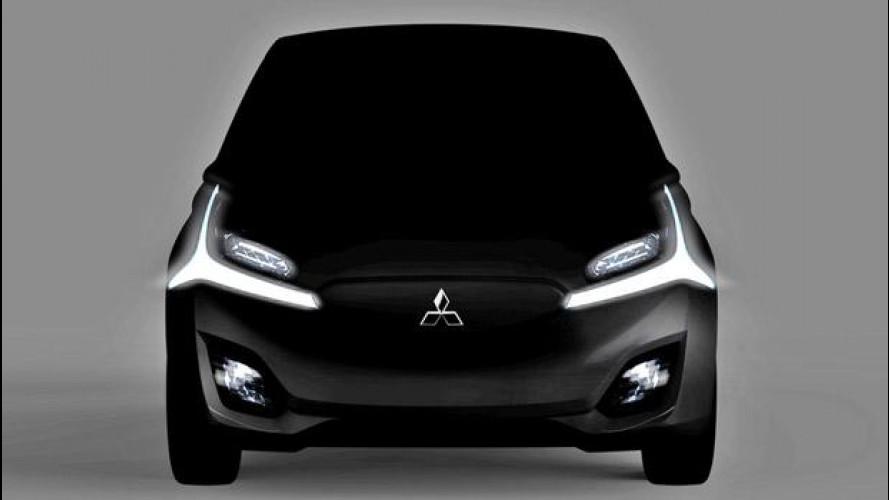 Mitsubishi CA-MiEV e GR-HEV concept a Ginevra