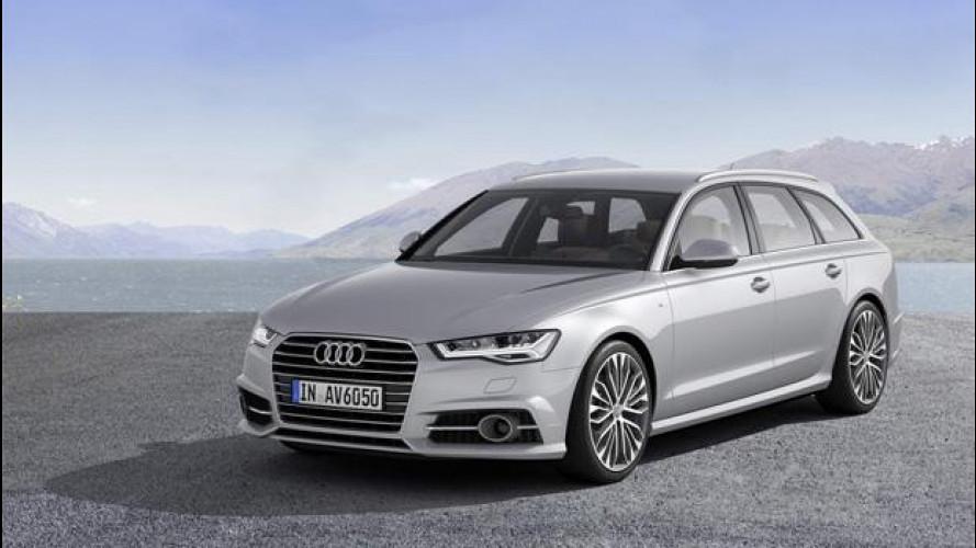 Audi A6 restyling, si parte da 43.000 euro e 24 km/litro