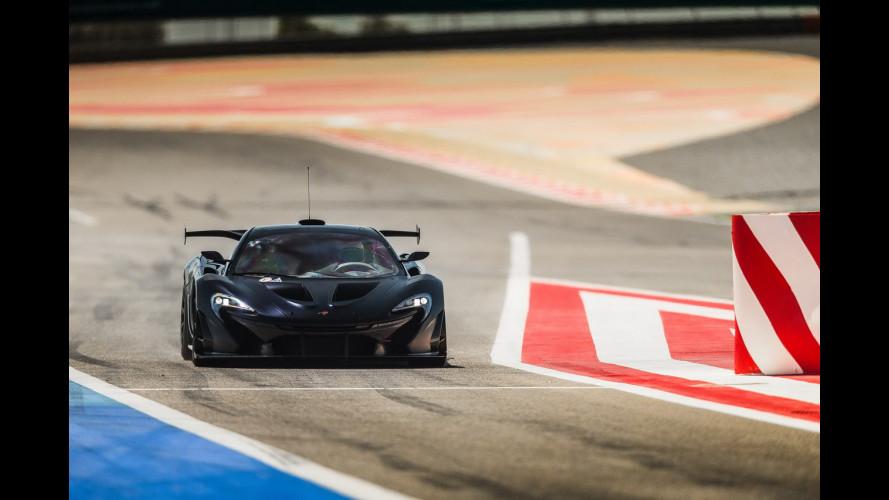 """McLaren P1 GTR, una sportiva """"da paura"""""""