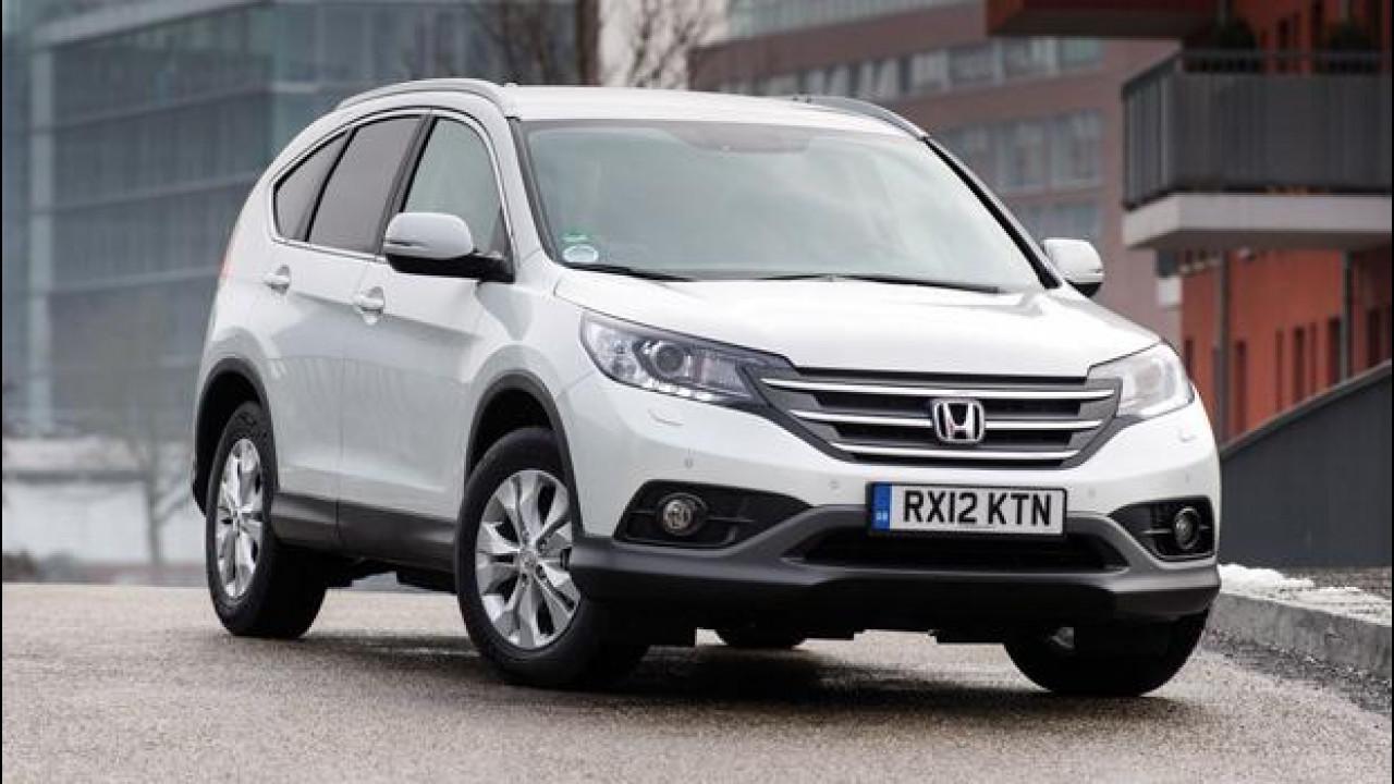 [Copertina] - Honda CR-V 1.6 i-DTEC, il piccolo Diesel