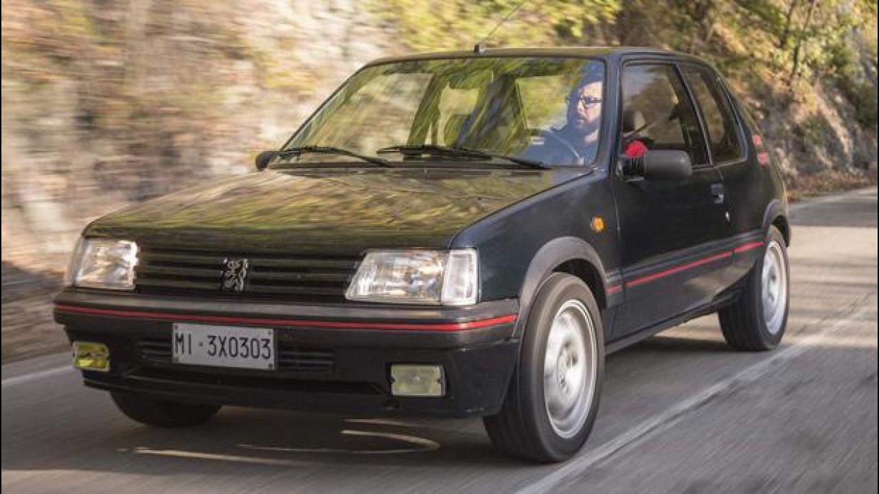 [Copertina] - Peugeot 205 GTi: presto saprete chi l'ha vinta