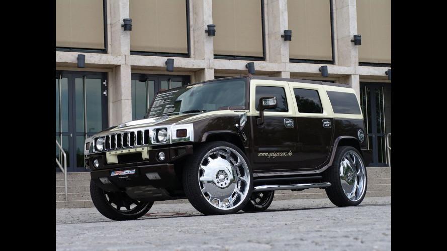 "GeigerCars Hummer H2 ""Latte macchiato"""