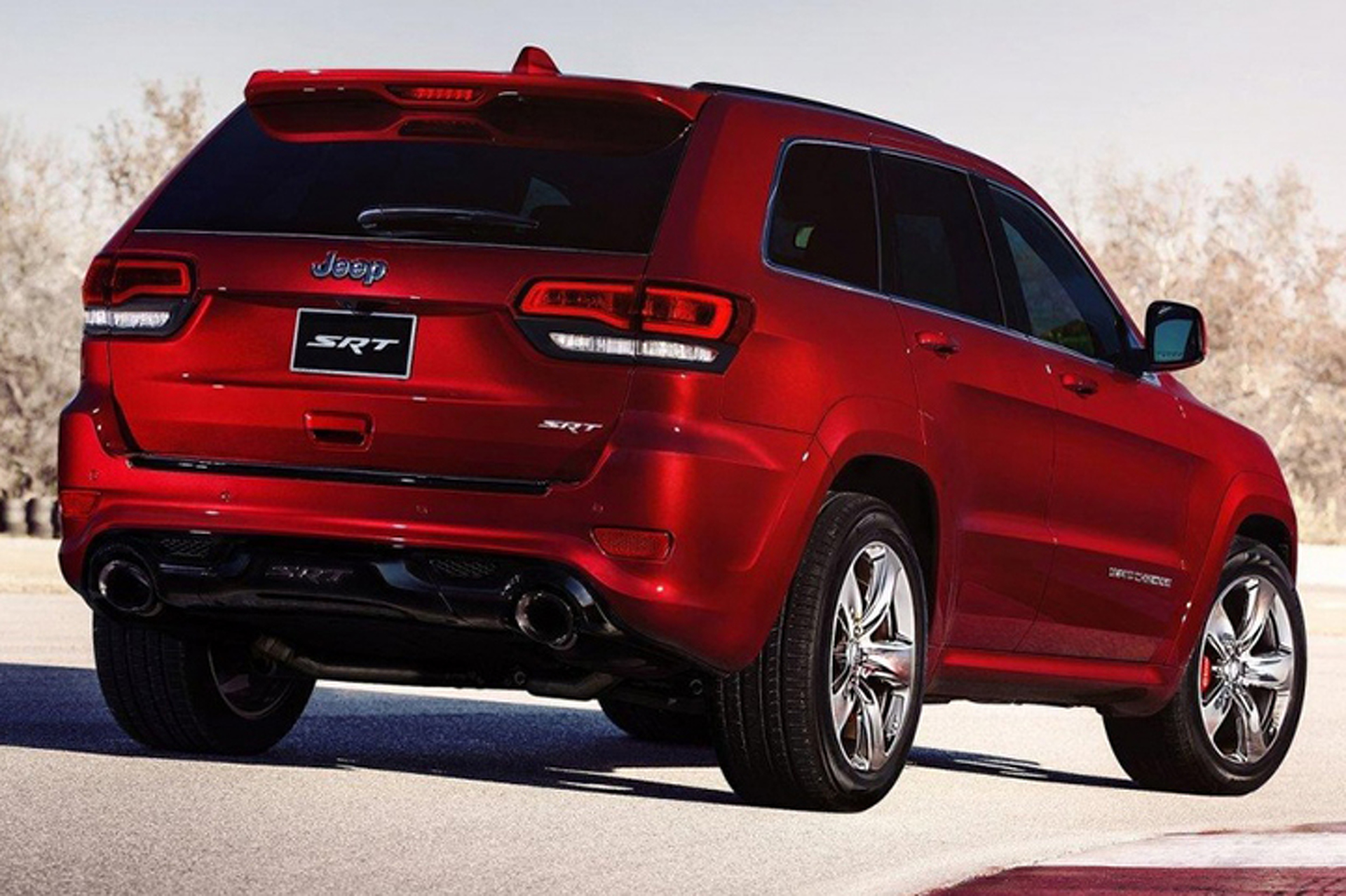 hot rod suv jeep will produce the grand cherokee srt trackhawk. Black Bedroom Furniture Sets. Home Design Ideas