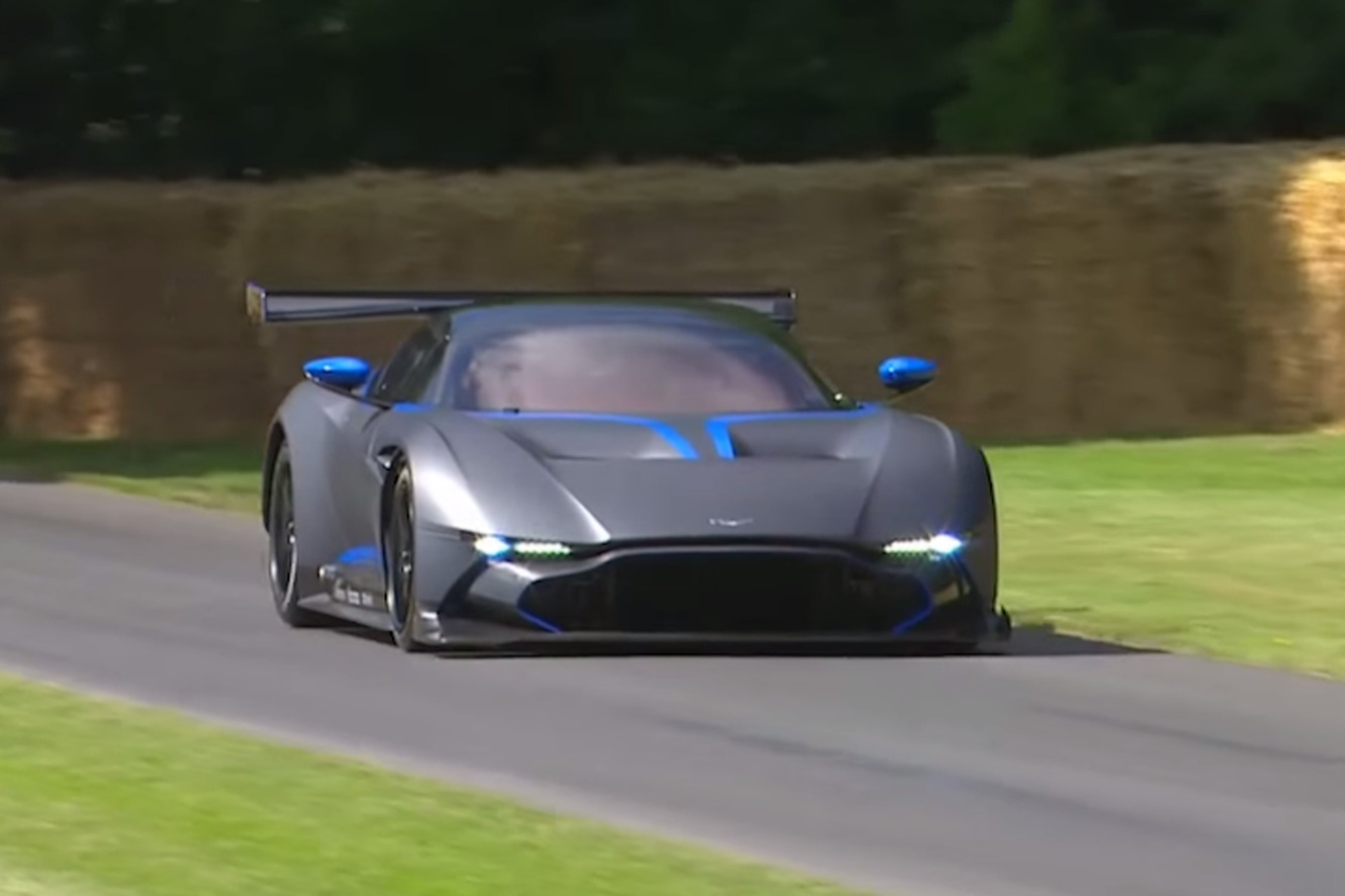 Aston Martin Unleashed the 800HP Vulcan On Goodwood