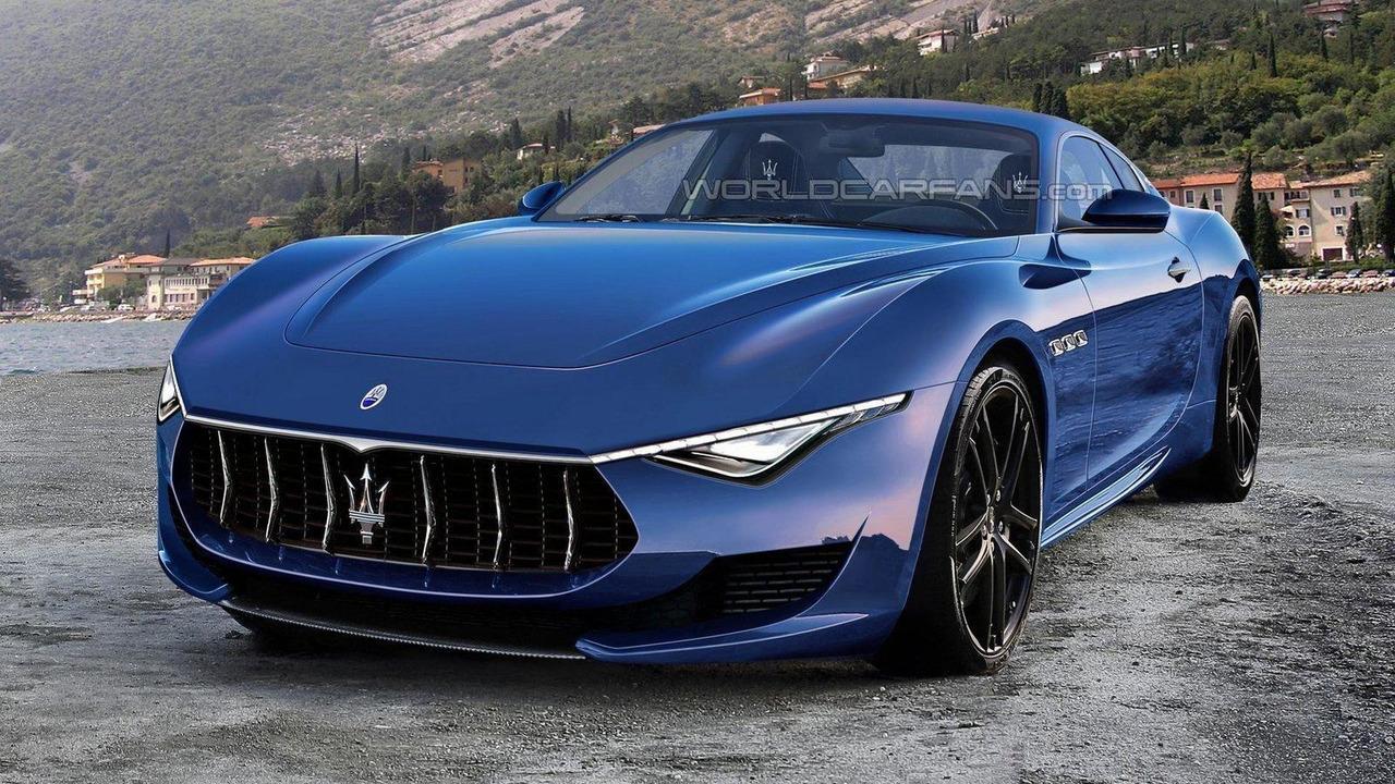 Maserati Alfieri production rendering