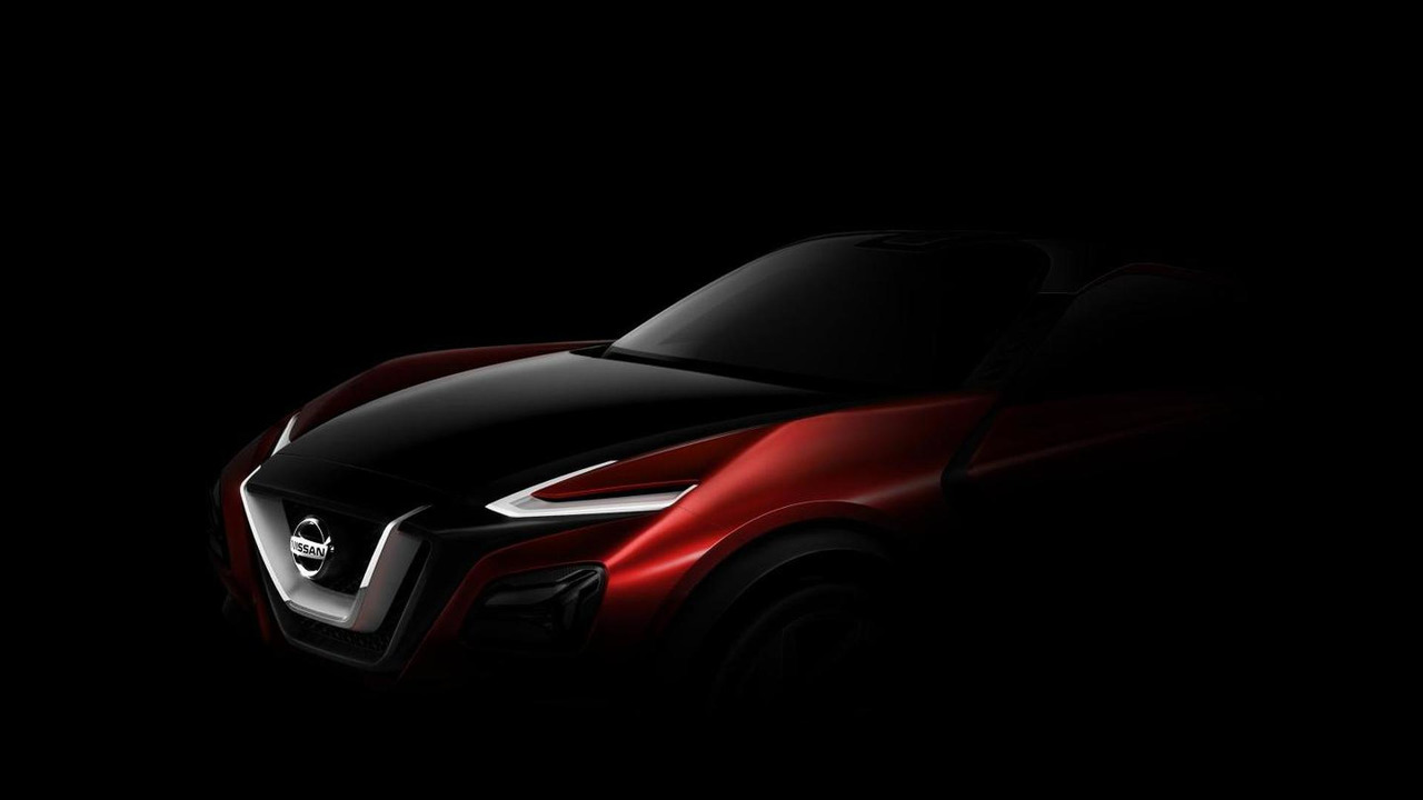 Nissan crossover concept teaser image