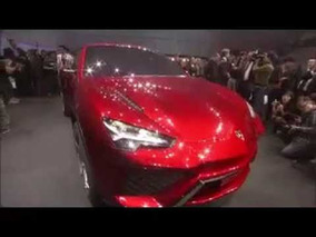 2012 Lamborghini Urus Concept General Views at the 2012 Beijing Motor Show
