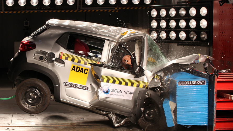 Five Indian cars get zero stars in Global NCAP crash tests