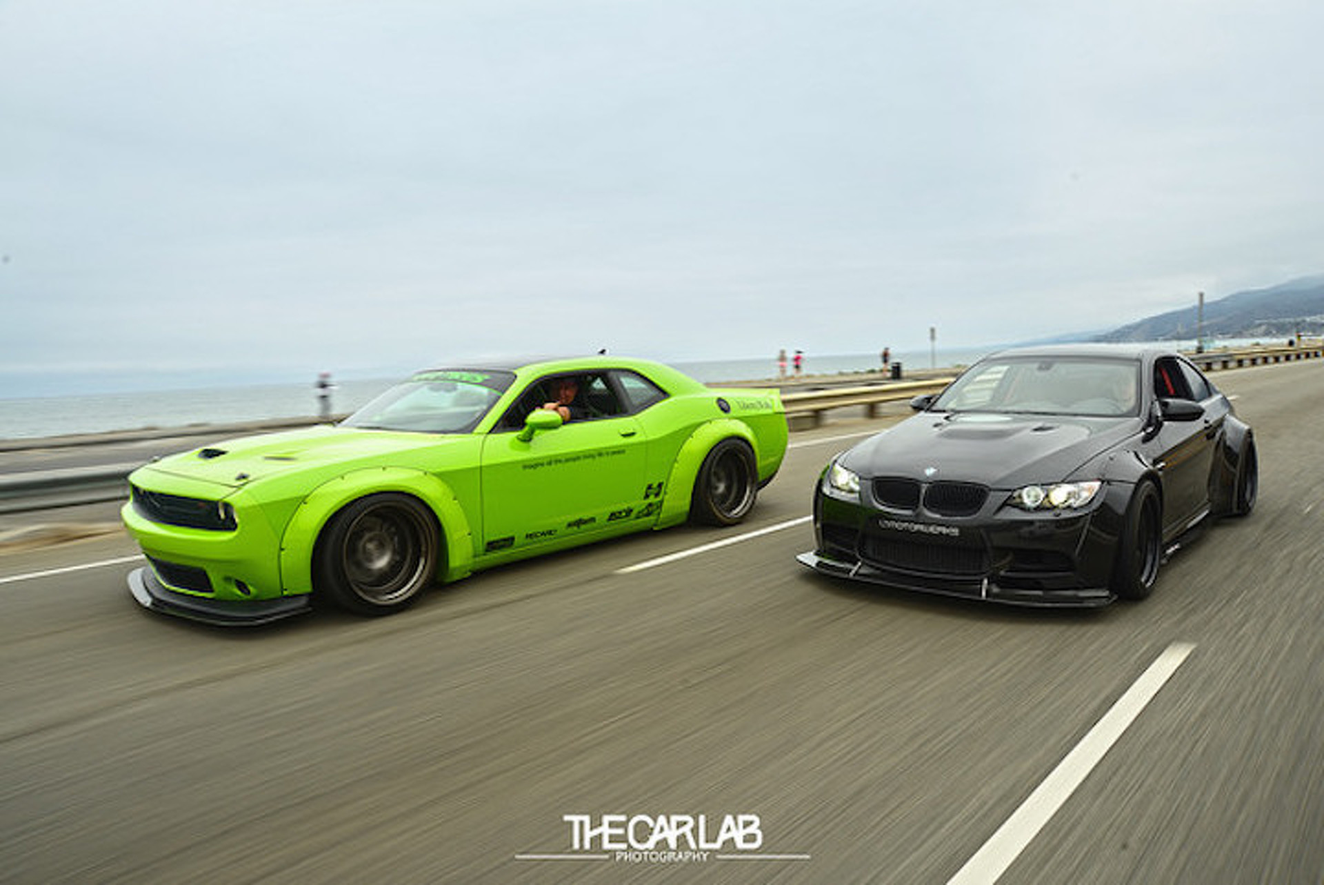 Liberty Walk Dodge Challenger Projecthulk Is As Mean And Green As They Get 1178740