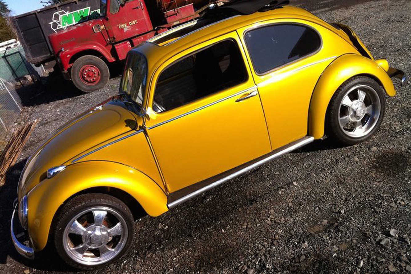 Chris Pratt's Volkswagen Beetle Hot Rod is Just More Reason to Love Him
