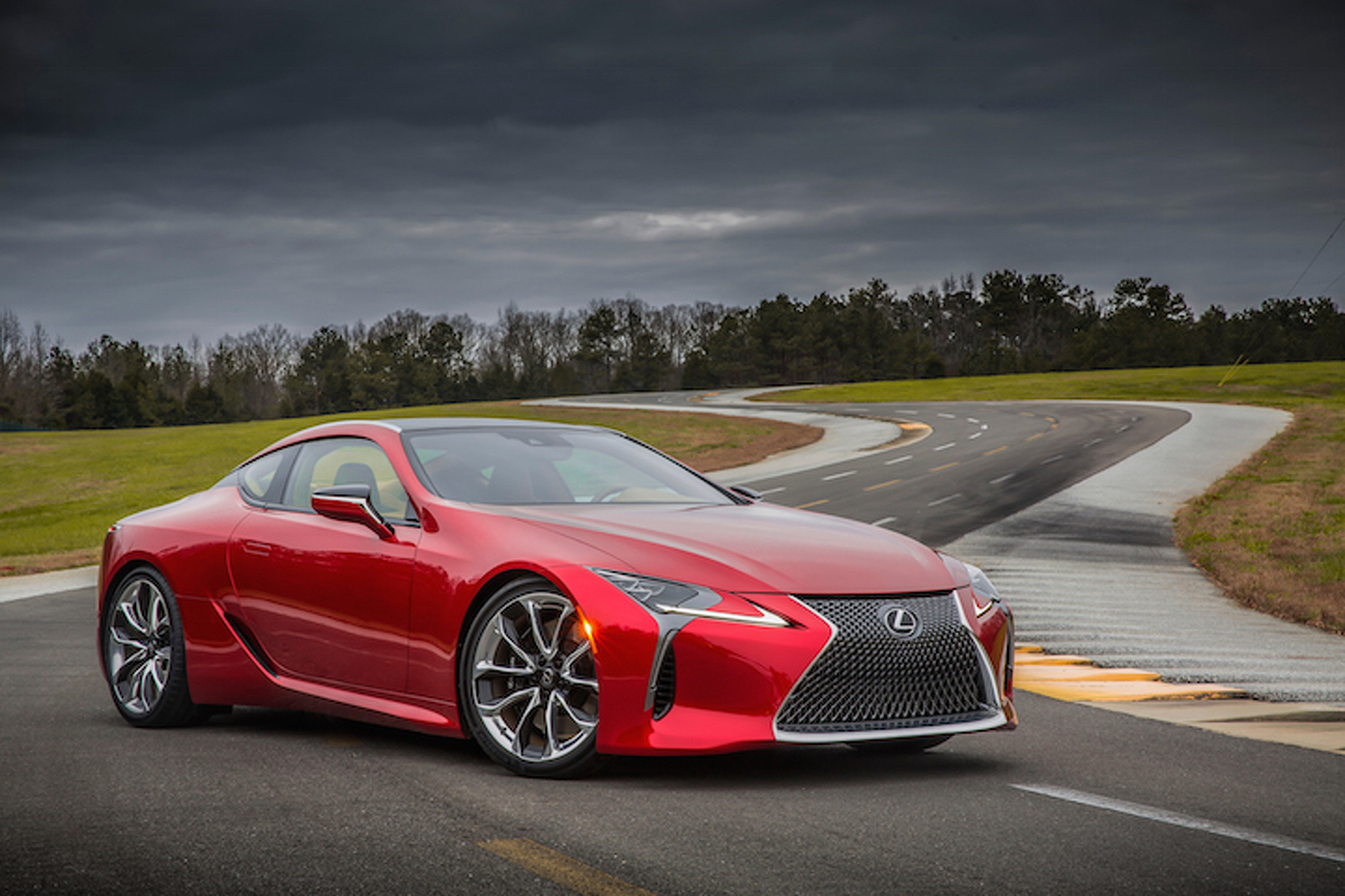 2017 Lexus LC 500 Coupe Channels Its Inner LFA Unleashes 467HP