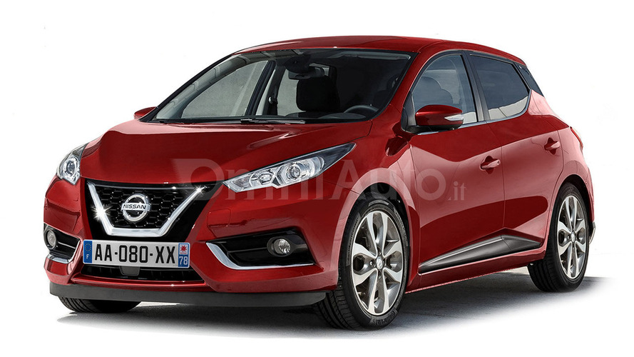 2017 Nissan Micra render by OmniAuto.it