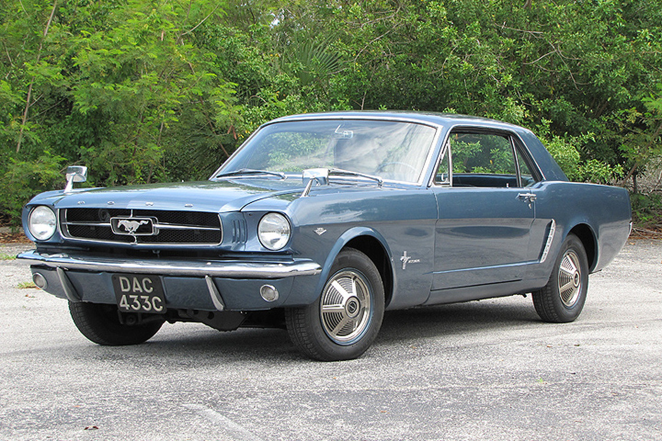 Driving the Fantastic, Four-Wheel Drive 1965 Ford Mustang