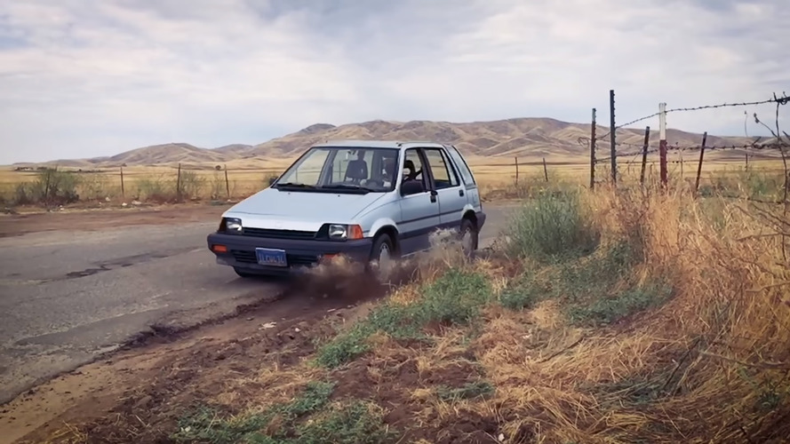 Gymkhana parody on a budget is quite entertaining