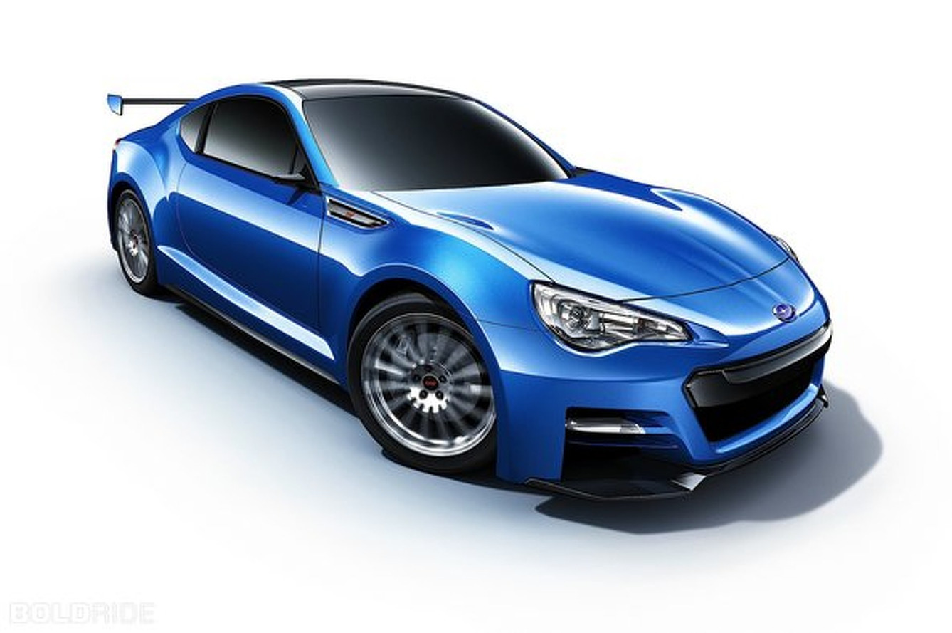 Subaru BRZ STI Could Receive 280 HP Turbocharged Engine