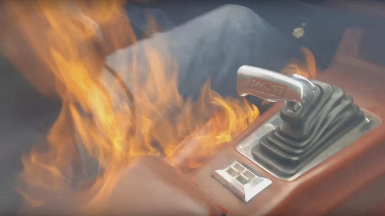 Camaro fire