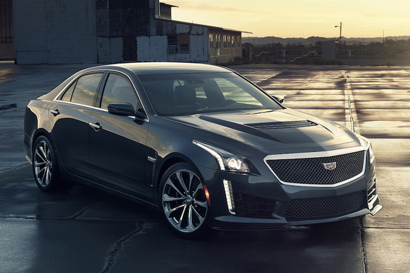 The 2016 Cadillac CTS-V is a 640HP M5 Fighter