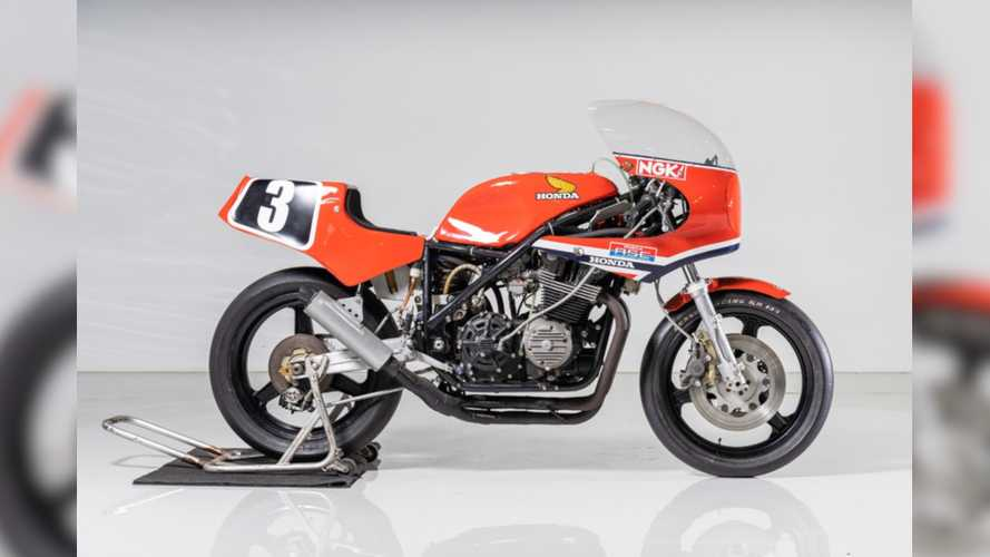 Rare Honda Race Bike Fetches $89K At First-Ever Suzuka 8 Hours Auction